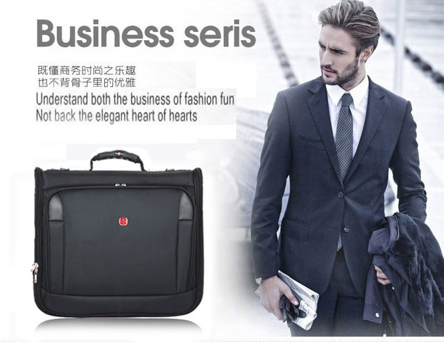 High Quality Suit Cover Garment Bag Business Mans Suit Carrier Long