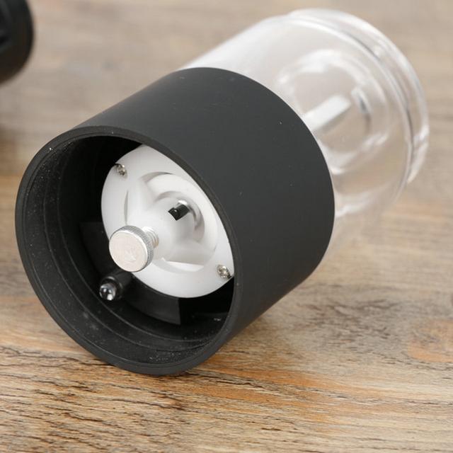 Electric Pepper Grinder with LED Lights
