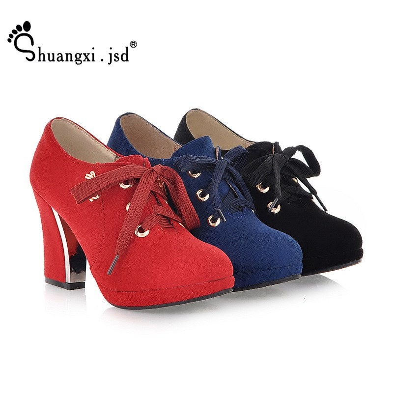 La Femmes Peu Haute black Noir Shuangxi Red Plus Designer Talons Mode blue Chaussures Hauts Luxe 9 Profonde Bouche Taille Jsd De Super 2018 Cm pxHxS5