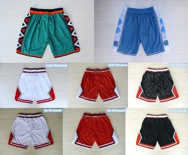 Basketball Shorts 96 all Star Shorts 23 Jordan 33 Pippen 91 Rodman White  Red Black Stripes Basketball Short Top Quality d4bdbdf6b