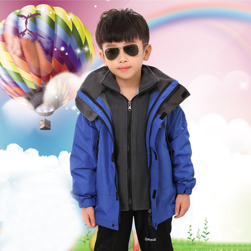 New Children Winter Down Jacket Boys Warm Outerwear Coats Girls Clothing 1-6 Years Kids Ski Suit Children's jackets thick ski
