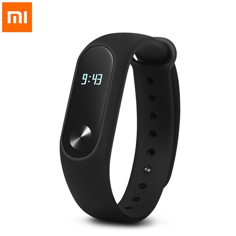 Xiaomi MiBand 2 Smart Bracelet Fitness Tracker Smartband Mijia Miband Bracelet Bande À Puce Moniteur de Fréquence Cardiaque Pour iPhone Android