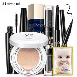 Makeup Set BB Cream eyebrow enhancer Concealer Foundation Brush Waterproof eye liner Puff Cosmetics Make Up Tools Accessories