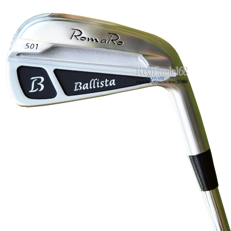New Golf Clubs RomaRo Ballista 501 Golf irons 4-9P Clubs irons Steel or Graphite Golf shaft and irons Grips Free Shipping