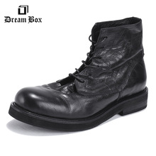 Motorcycle martin boots mens chelsea leather men botas hombre ankle bota masculina shoes Riding, Equestrian