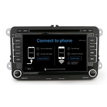 2 Din Car Dvd Player Pc Gps Navigation Stereo Video android 5.1 for VW/Volkswagen/Passat/POLO/GOLF/Skoda/Seat/sharan/jetta