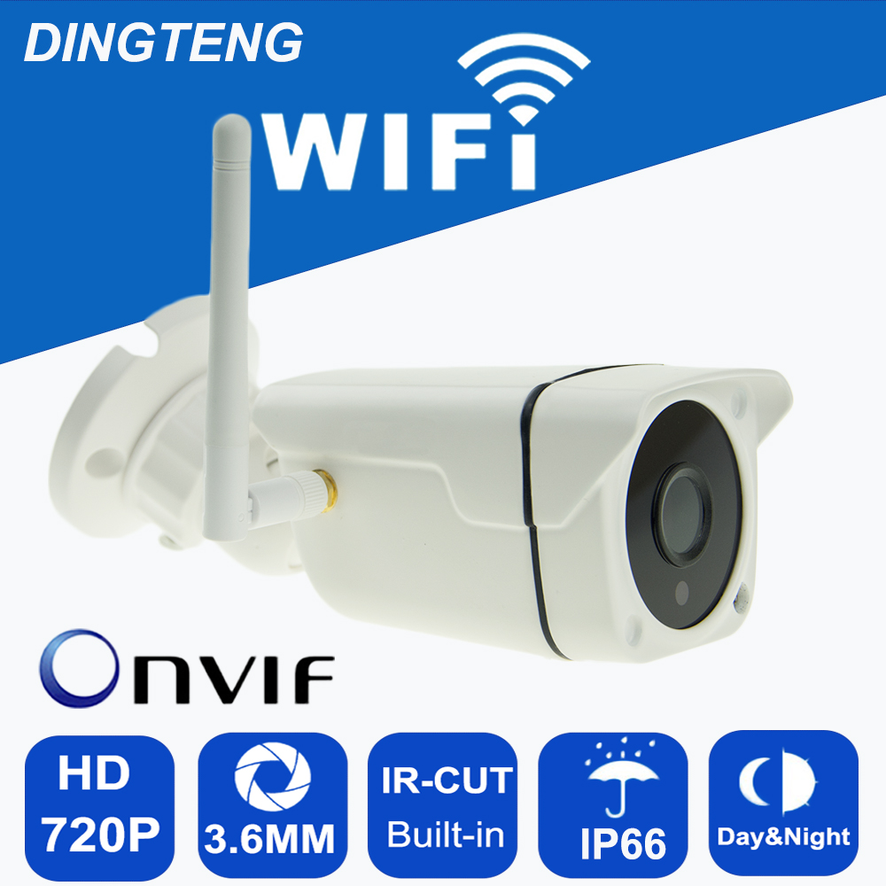 ip camera 720p HD Wifi cctv security  waterproof wireless P2P weatherproof outdoor infrared mini Onvif H.264 IR Night Vision CAM wifi ip camera 1080p full hd cctv security waterproof wireless p2p weatherproof outdoor infrared mini onvif ir night vision cam