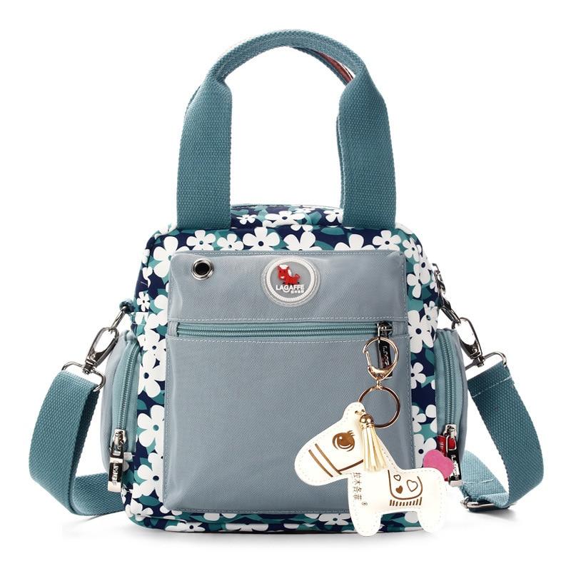LAGAFFE Fashion Multifunctional Backpack Mini Nappy Bag Mother Bag One Shoulder Cross-body Bag Of Mother