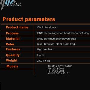 Image 3 - 오토바이 액세서리 체인 조절기 텐셔너 체인 조절기 yamaha fz8 tmax 530 tmax 530 12 15 fz1 yzf r1 cnc