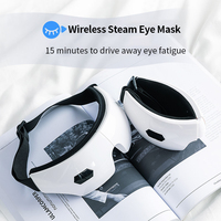 USB Charging Wireless Use Heating Steam Eye Mask 3D Help Sleep Adjust Hot Heat Timing Eye Mask Protection Relax Travel Office