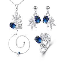 S145-A Fashion popular silver plated jewelry sets for sale