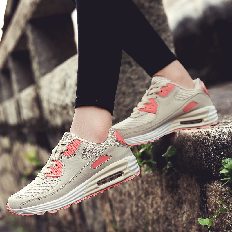 Running Shoes For Women Brand Light Athletic Sports Air Mesh Breathable Unisex Trainers  Sneakers for Female