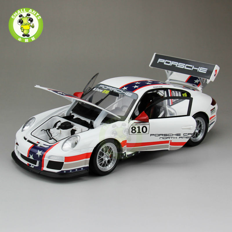 1 18 MUSEUM COLLECTION USA 810 911 997 GT3 CUP Welly GTAUTOS Car Model