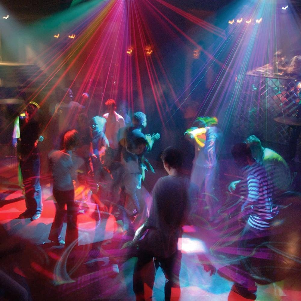 128 Patterns Projecteur DJ Laser Stage Light RG rouge vert Bleu LED - Éclairage commercial - Photo 6