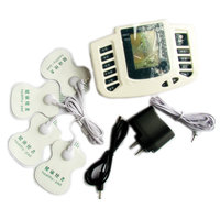 Electrical Stimulator JR 309 Full Body Relax Muscle Massager Pulse Tens Acupuncture With Therapy Slipper 4pads