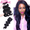 3 Bundles Peerless Peruvian Body Wave With Closure 7A Peruvian Virgin Hair With Lace Closure Hanne Sexxy Formular Hair Extension