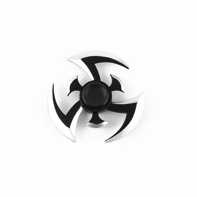 Fidget Gyroscope Spinner Naruto Finger Spinner Tri SpinnerMetal Hand Spinner Model EDC Stuffer For Kid/Adult ToysFidget Gyroscope Spinner Naruto Finger Spinner Tri SpinnerMetal Hand Spinner Model EDC Stuffer For Kid/Adult Toys