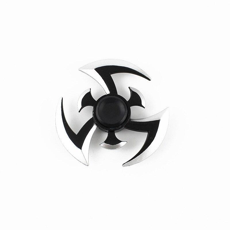 Fidget Gyroscope Spinner Naruto Finger Spinner Tri SpinnerMetal Hand Spinner Model EDC Stuffer For Kid/Adult Toys