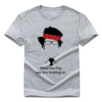 IT Is A Madman IT Wing The IT Crowd Men S Short Sleeve T Shirt Pure