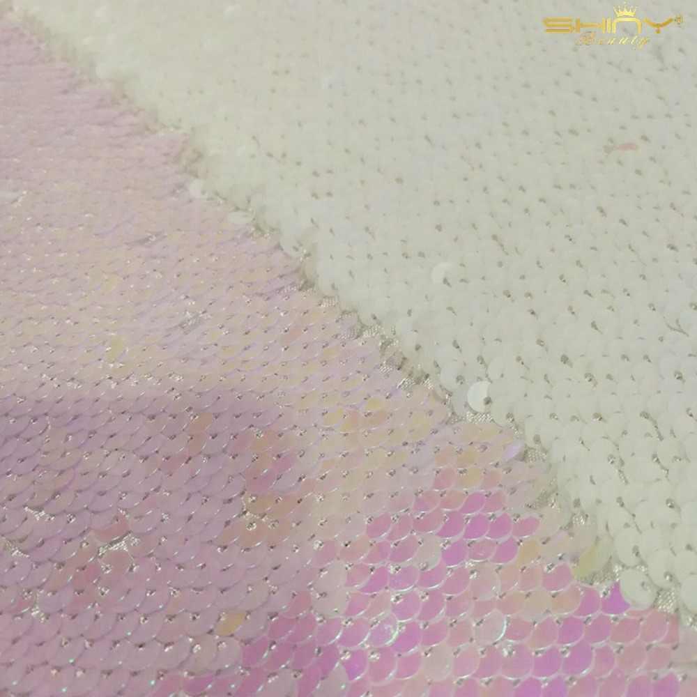 Parlak Güzellik Altın/Siyah/Pembe geri dönüşümlü pullu kumaş elbise/Masa örtüsü/koşucu/Düğün dekorasyon/arka plan malzeme 0.5Y C