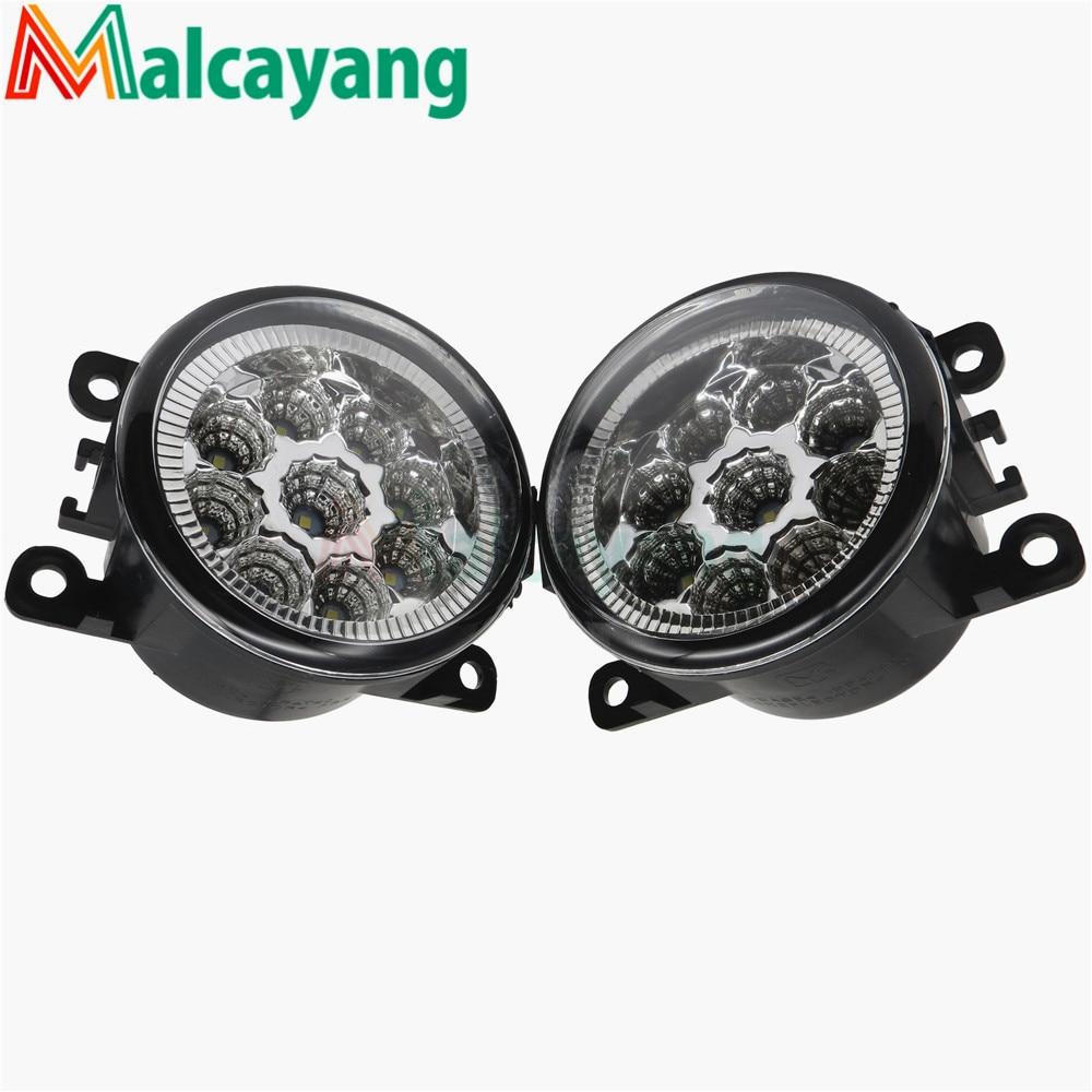 35500-62J02 35500-63J00 35500-63J01 8200074008 For Renault TRAFIC 2/II Bus JL 2001-2006 2008-2015 Car Styling LED Fog Lamps
