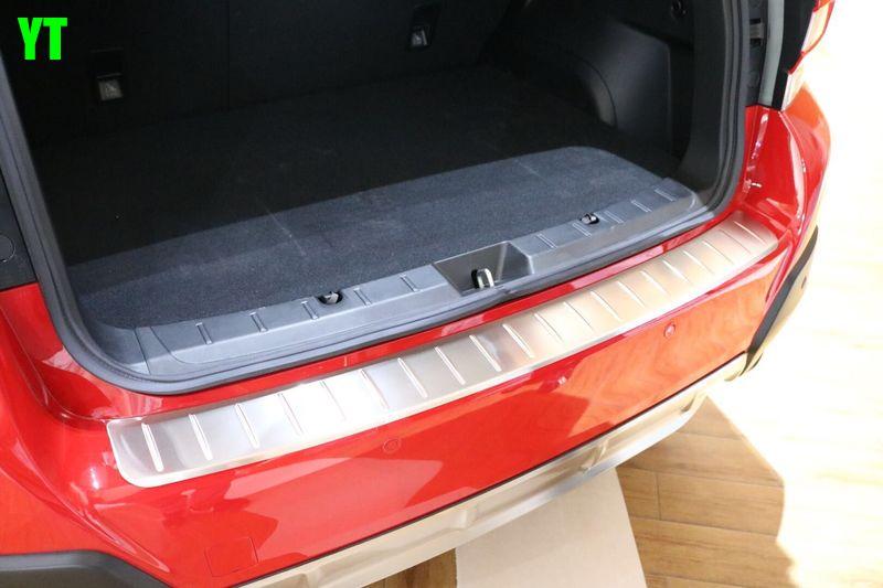 Авто Задний бампер протектор для subaru XV, нержавеющая сталь, авто аксессуары
