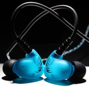 Image 3 - Rukz s6 xbs baixo esporte fones de ouvido para o telefone móvel com cancelamento ruído fone dj estéreo em execução fones alta fidelidade earbud