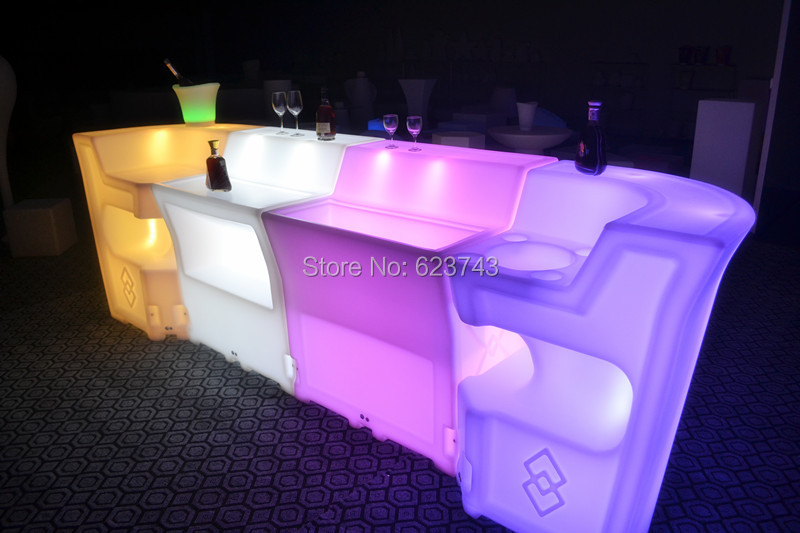 LED BAR Lumineux Table 14