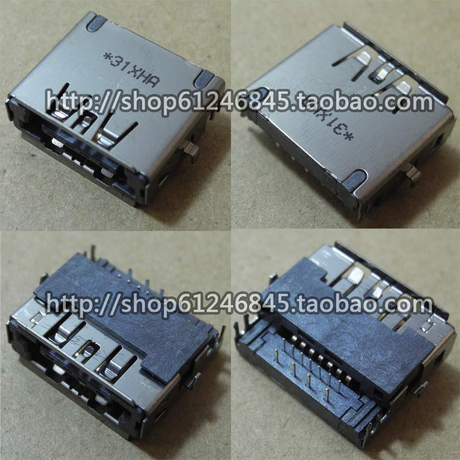 Free shipping For new original For <font><b>Samsung</b></font> NP-<font><b>P480</b></font> P580 400B5B eSATA USB combo interface image