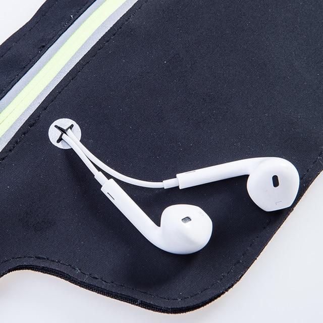 AONIJIE Runnning Waist Bag Men Women Sport Waist Pack Jogging Gym Fitness Running Belt Bag Phone Holder Sport Accessories 5