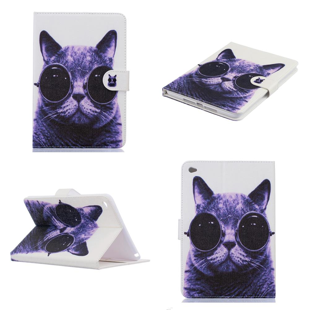 For Mini iPad Mini 4 3 2 1 Cover Case Smart Wallet Cat Stand Case Girl Kids Gift Protect Cover For ipad air 3 2 1 ipad 7 6 5 4 3 защитное стекло для ipad mini mini 2 mini 3 protect