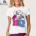 Новое Лето женщины Футболка Fun Харли Квинн Suicide Squad футболка милые девушки Tee shirt Хорошее качество удобная марка рубашки