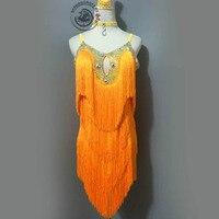 Костюмы для латиноамериканских танцев юбка для танцев для продажи Одежда высшего качества индивидуальный заказ шоу на сцене Танцы одежда Д