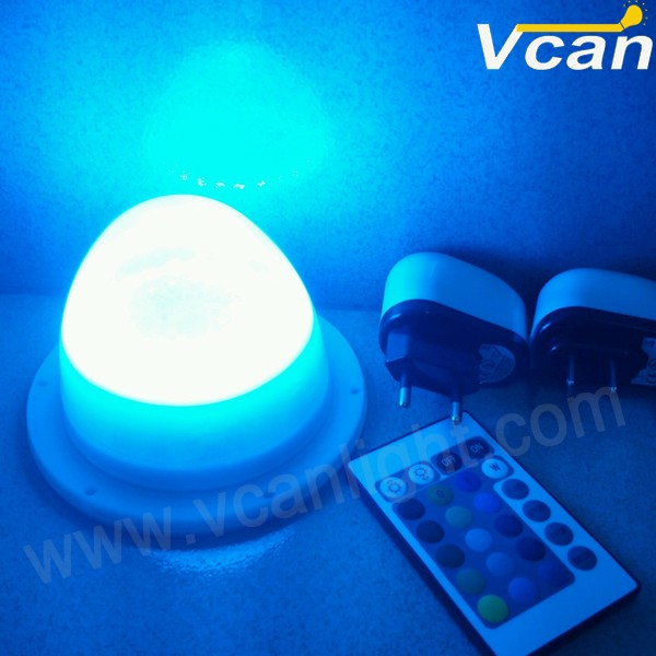 DHL Free Shipping Wireless Waterproof Led Lighting Bulb inside for Ball furniture