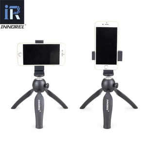 Image 4 - INNOREL PW10 Multifunctional Mini Tabletop Tripod Phone Clip Holder Mount Selfie Stick For Mirrorless cameras & Most cellphones