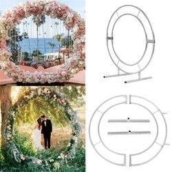 Cirkel Boog Kader Metalen Ronde Bruiloft cirkel mesh Party Achtergrond Outdoor Indoor bruiloft props en levert verjaardagscadeau