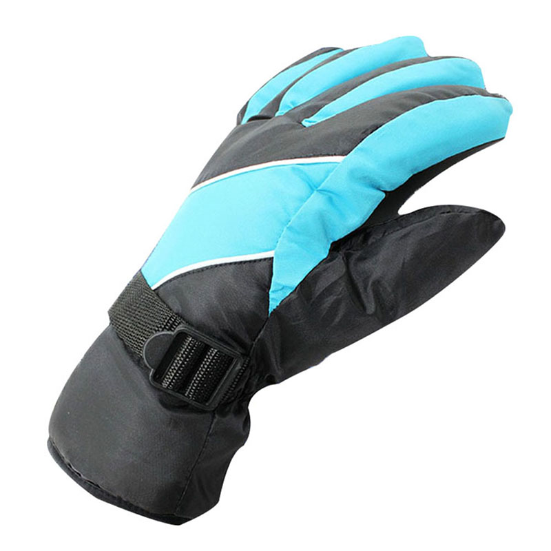 Windproof Warm Ski Gloves Antiskid Wear Resistant Riding Mountain Skiing Snowmobile Waterproof Snow Motorcycle Gloves