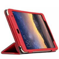High Quality Genuiue Real Leather Mangetic Closure Stand Protective Cover Case For Xiaomi Mi Pad 2
