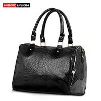 MAGIC UNION Women Luxury Handbags Ladies PU Leather Handbags Messenger Shoulder Bags Female Bucket Fashion Bags
