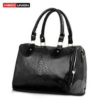 MAGIC UNION Women Luxury Handbags Ladies PU Leather Handbags Messenger Shoulder Bags Female Bucket Fashion Bags Handbags