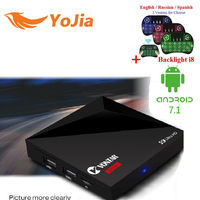 RK3328 Rockchip A5X Plus Android TV BOX Newest Android 7 1 OS 1GB 8GB 2 4G
