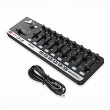 На выбор легко Управление. 9 Портативный мини USB 9 slim-линия Управление миди Управление;