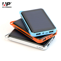 ALLPOWERS Power Bank 15000mAh Dual USB LED Solar Power Bank For IPhone 4s 5 5s 6