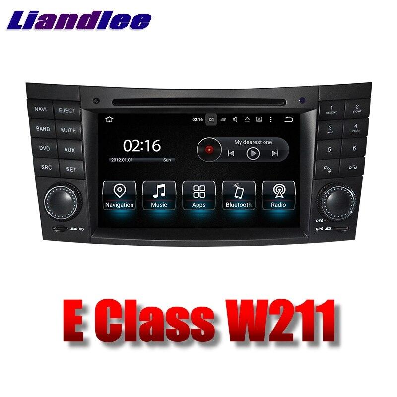 Liandlee Car Multimedia Player NAVI For Mercedes Benz E W211 MB 2002~2009 Car Touch Screen Radio DVD Stereo GPS Navigation