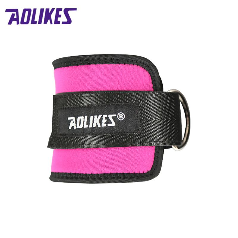 2018 1 Pcs D-ring Adjustable Ankle Guard Strap Thigh Leg Pulley Gmy Weight Lifting Legs  ...