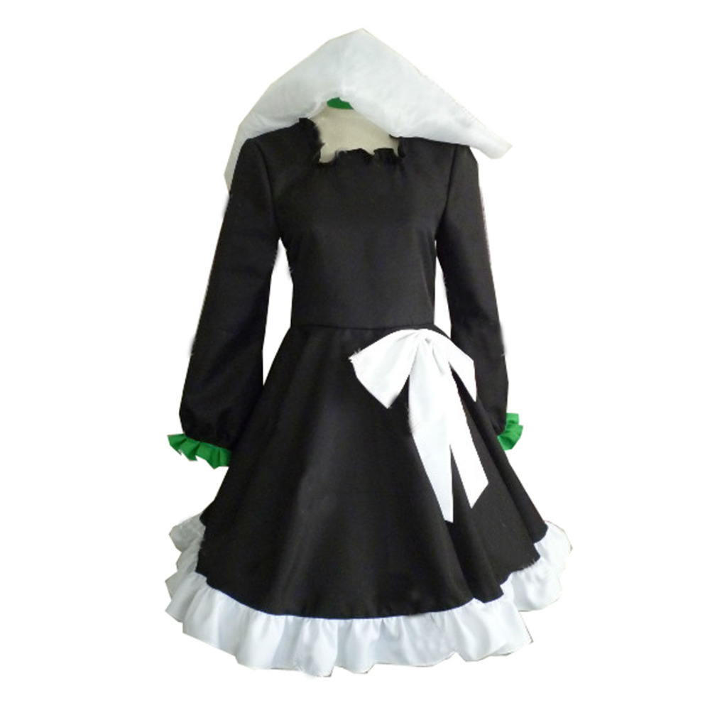 2017 Black Rock Shooter Cosplay Costume Dead Master Dress