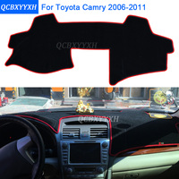 Car Styling Dashboard Protective Mat Shade Cushion Photophobism Pad Interior Carpet For Toyota Camry 2006 2011