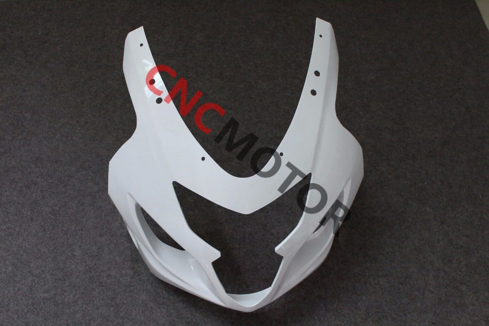 ABS Front Cowl nose wtih Connected Panel of Upper Fairing bodywork Kit for Suzuki GSX-R GSXR600/750 2004-2005 Unpainted abs plastic for new white red suzuki 2004 2005 gsxr 600 750 bodywork fairing kit k4 gsxr600 sxh gsxr750 fairings kits 04 05 528