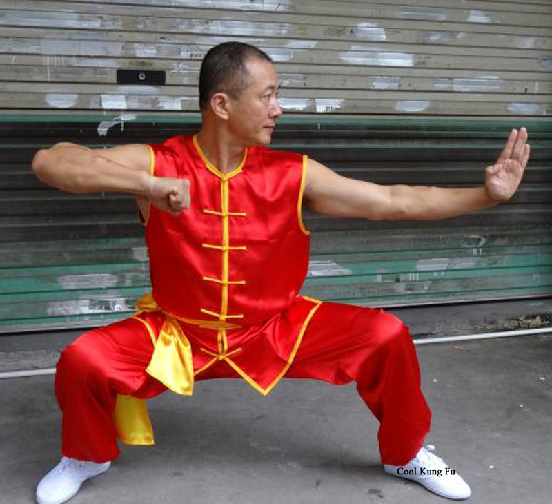 Short-sleeve Tai Chi Clothing Kung Fu Clothes Both Men And Women Performance Training Clothing