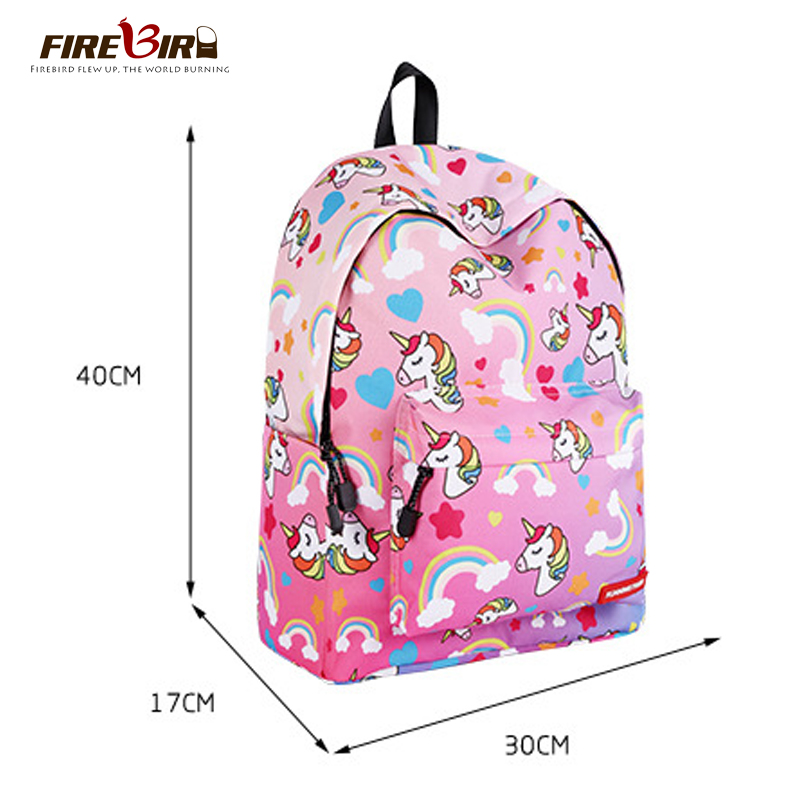 8edd273f95 Kawaii Cartoon Unicorn Backpack For Teenage Girls Children School Bags  Women Laptop Backpack Kids Book Bag